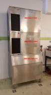 2x Výrobník kostkového ledu BREMA C300A + BIN 350